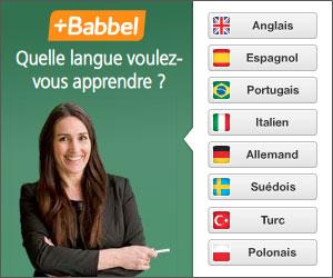 Apprenez une langue avec Babbel !