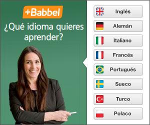 ¡Aprende un idioma con Babbel!